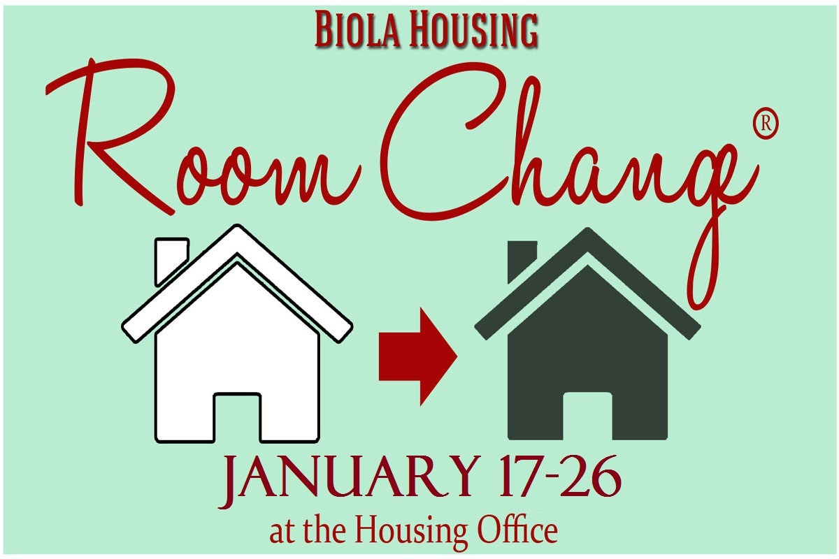 Room Change Spring 2018 January 17-26