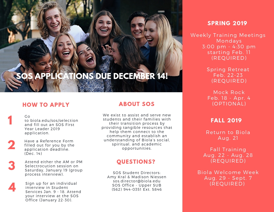 Apply for SOS Infographic
