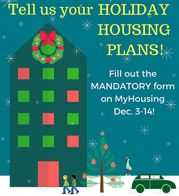 Tell us your Holiday Housing Plans