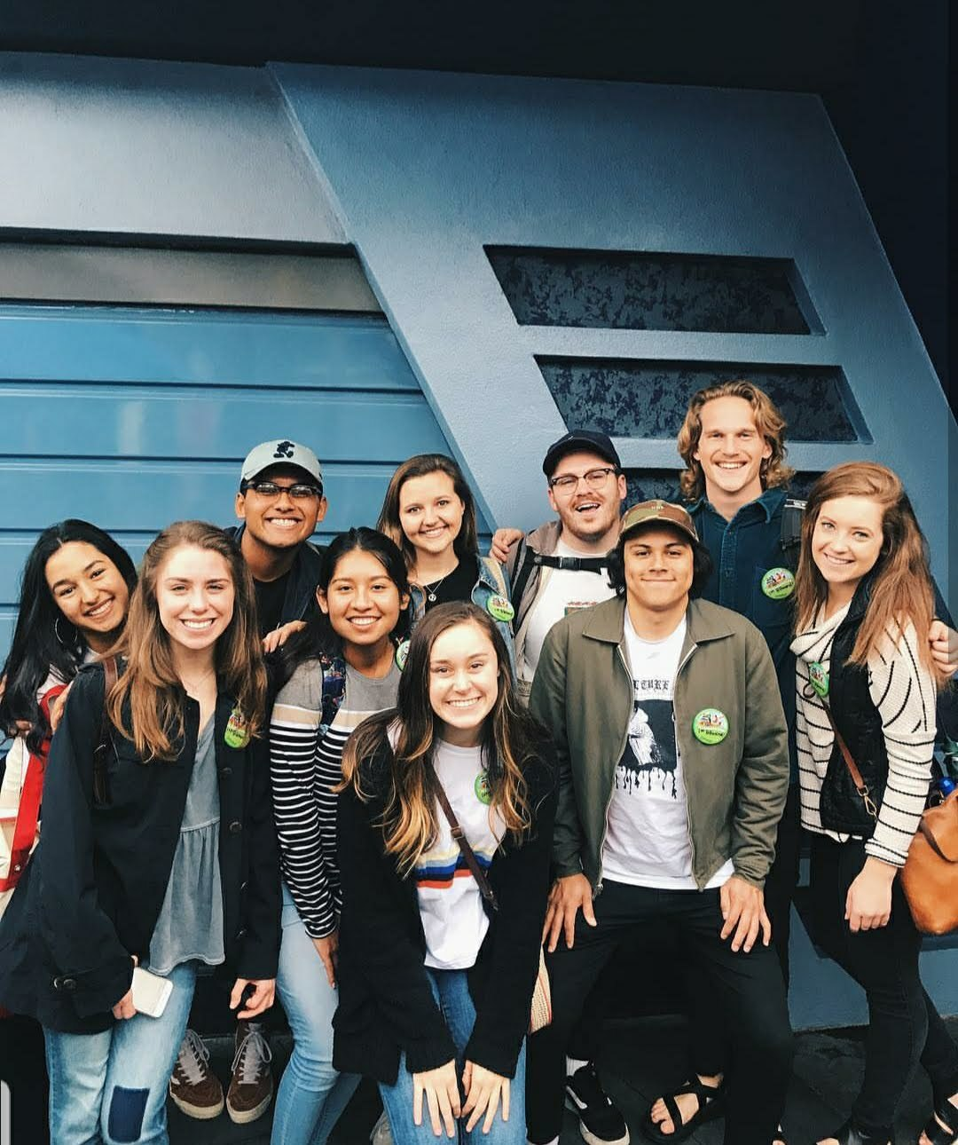 Social Media team at Disneyland