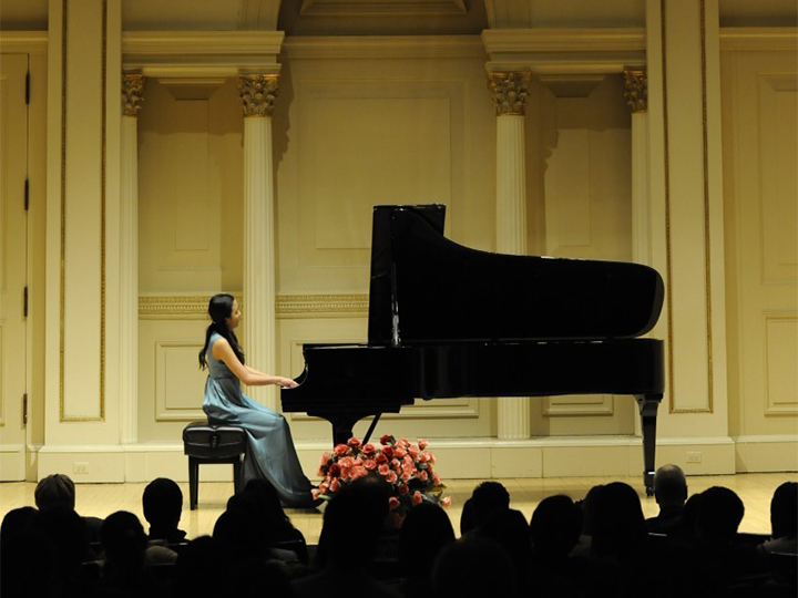 Muli Yu performs in Carnegie Hall