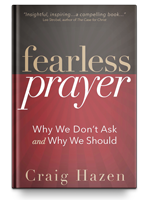 Cover of Fearless Prayer by Craig Hazen