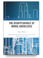 Cover of The Disappearance of Moral Knowledge by Dallas Willard