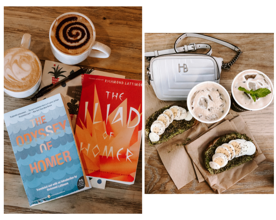 Maggie's Summer Reading and Coffee Trips