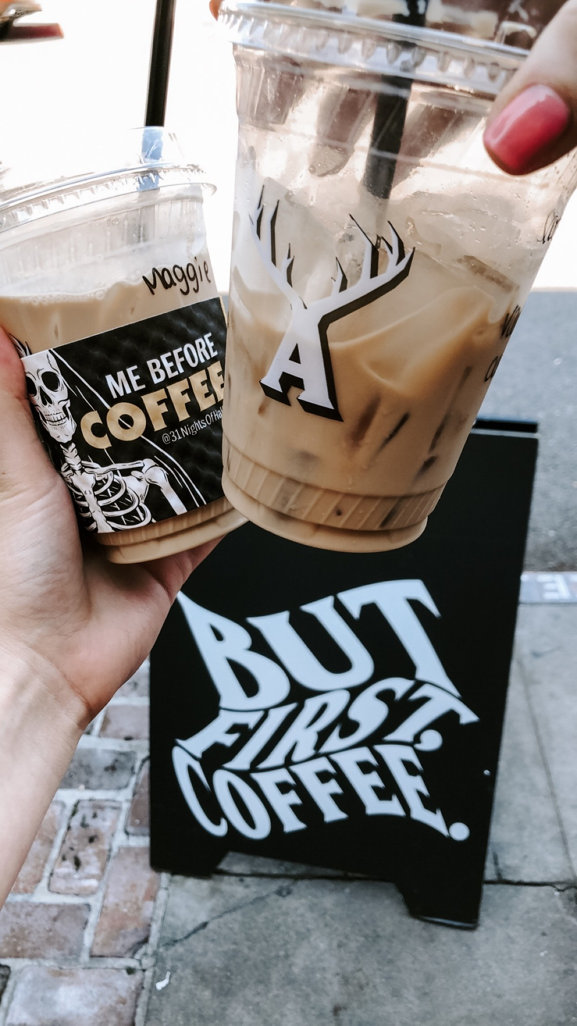 Alfred's Coffee! It's honestly some of the best coffee I have tried!