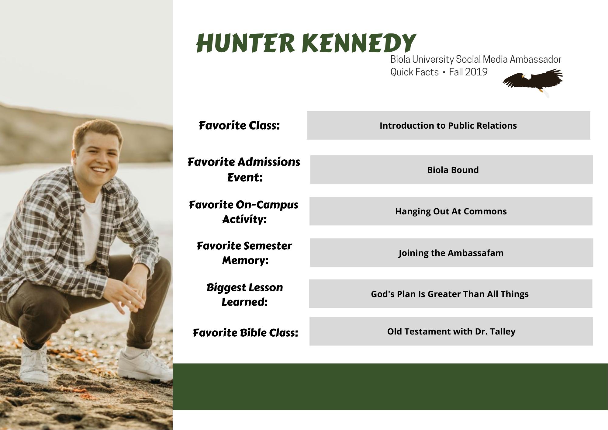 Hunter, In Detail