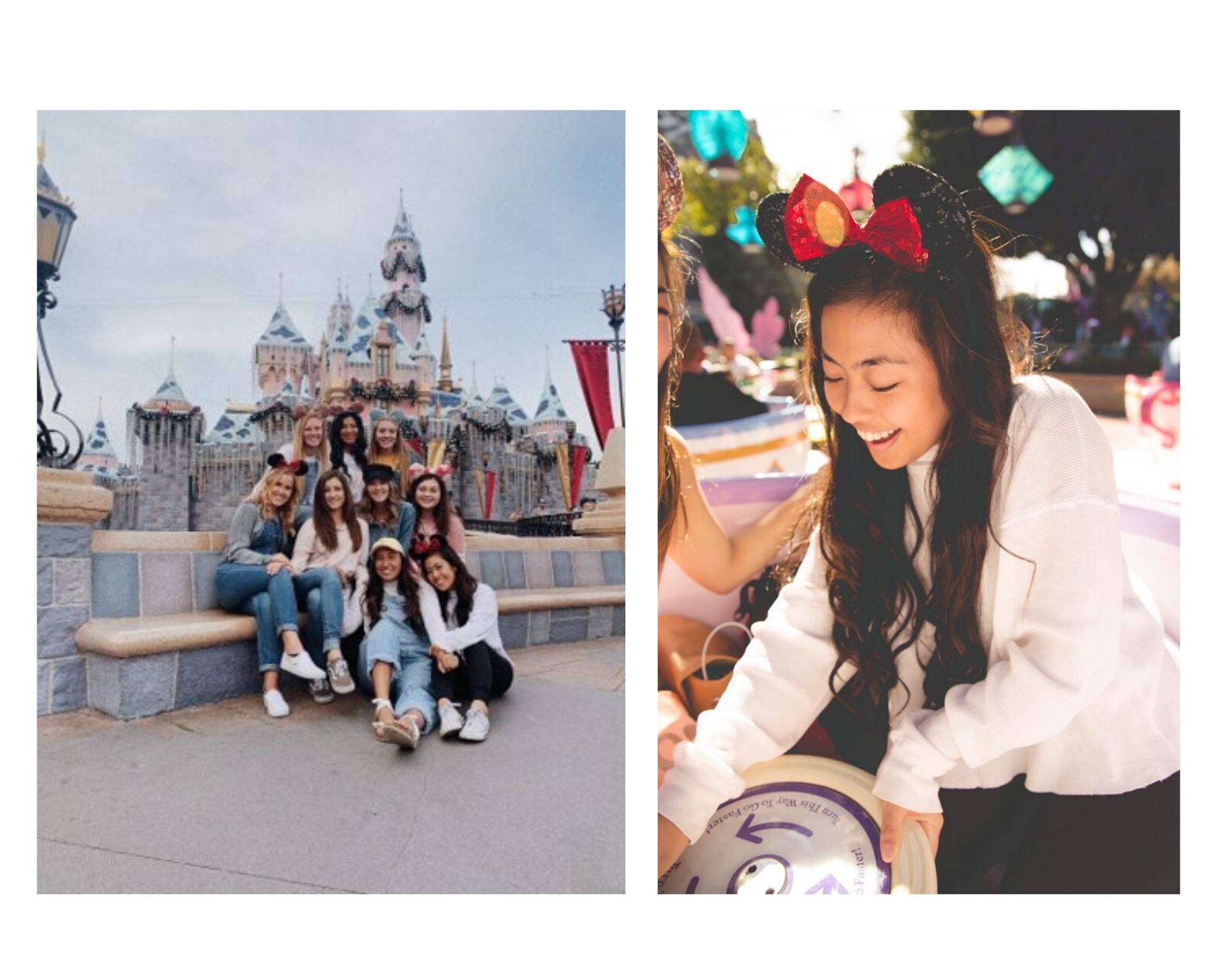 Anna at Disneyland with Friends!