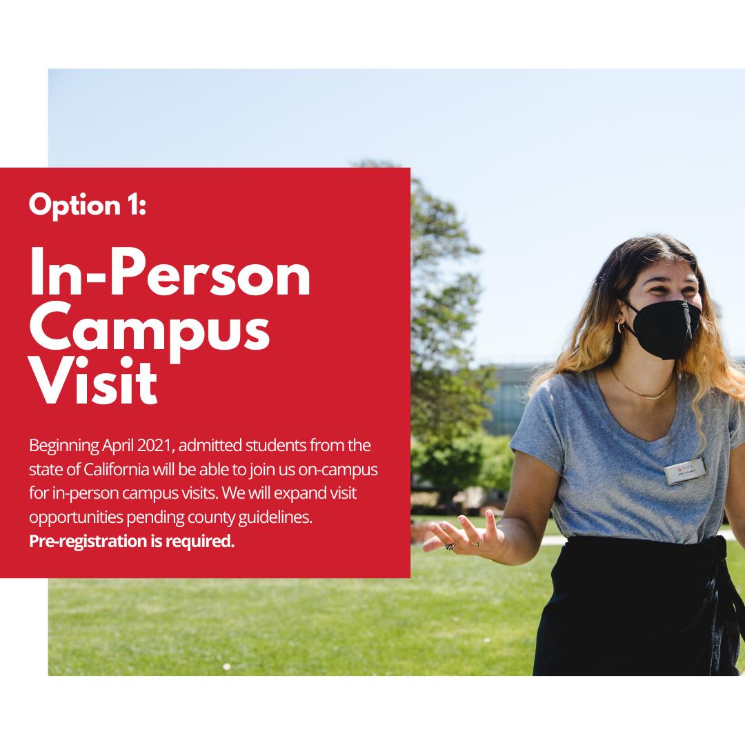 In-Person campus visit