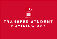 Transfer Student Advising Day 2017