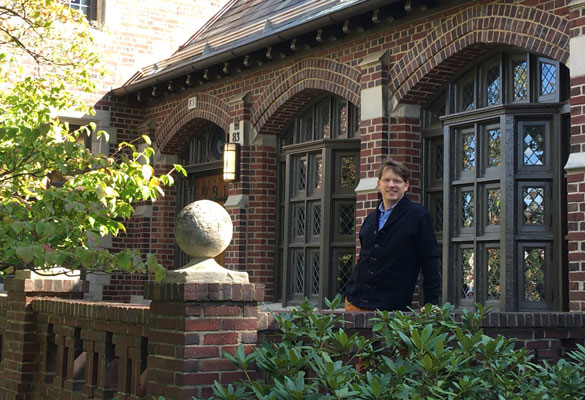 Professor Matthew Wright at Princeton University