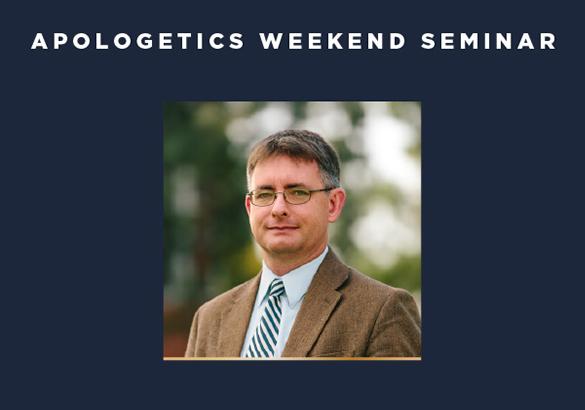Apologetics weekend seminar photo of Fred Sanders