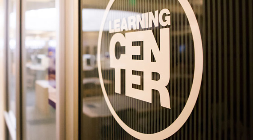 Entrance to the Learning Center