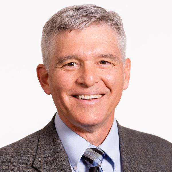 portrait of Mark R Saucy